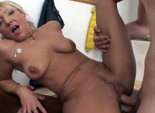 Mature blonde sex